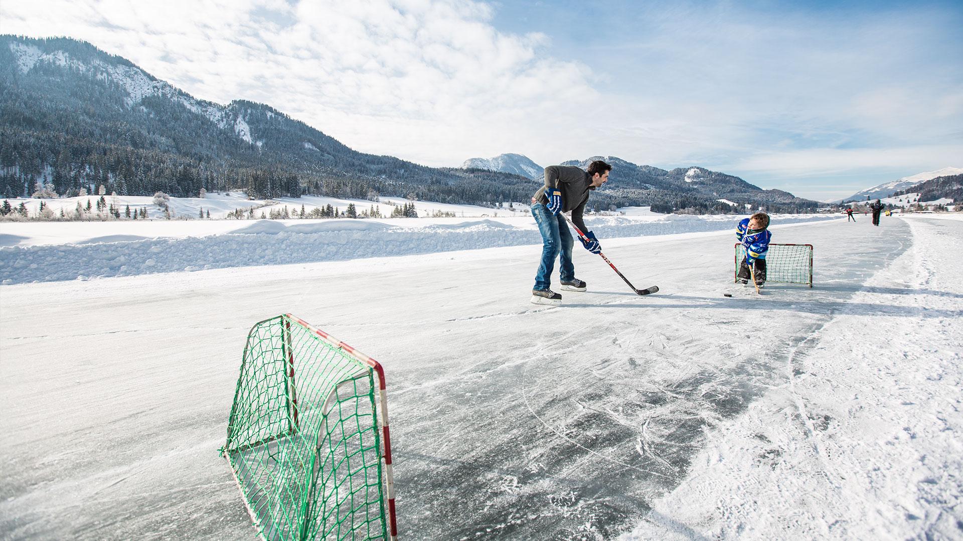 Eishockey-Aktivitaeten